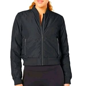 Core 10 Women's Insulated Cropped Bomber Jacket